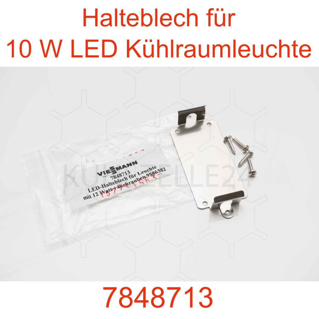 halteblech f r led k hlraumleuchte 10w t rrahmen viessmann k hlzelle tiefk hlzelle und. Black Bedroom Furniture Sets. Home Design Ideas