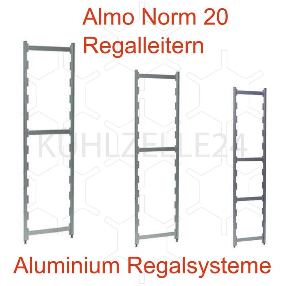 Außergewöhnlich Regalsystem Günstig Das Beste Von Regal Almo Norm 20 Aluminium Regalleitern
